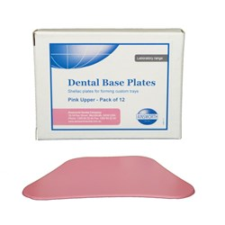 Base Plate Pink Uppper 1.4mm Thickness Pack of 12
