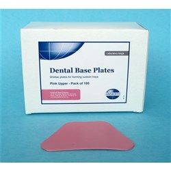 Base Plate Pink Uppper 1.4mm Thickness Pack of 100