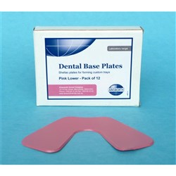 Base Plate Pink Lower 1.4mm Thickness Pack of 100