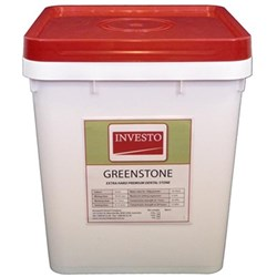 INVESTO Greenstone 5kg Pail Extra Hard Type III Stone