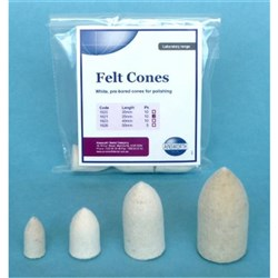 Felt Cone Pointed X Large 55mm Pack of 5