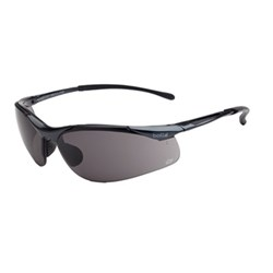 Sidewinder Safety Glasses Metal Frame Smoke Lens 23g