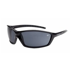 PROWLER Safety Glasses Black Gloss Frame Smoke Lens