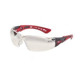 RUSH PLUS Safety Glasses Contrast Lens Red Template 27g