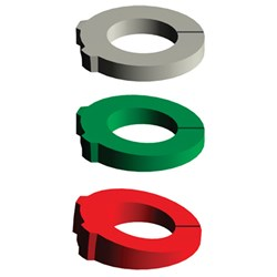 Ball Attachment Directional Rings 3 sizes per kit
