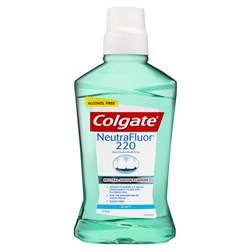 Colgate NeutraFluor 220 Alcohol Free Rinse 473ml x 6