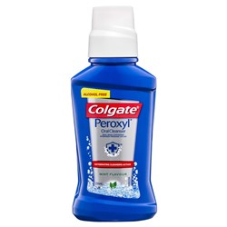 Colgate Peroxyl Oral Cleanser Alcohol Free Mint 236ml x 6