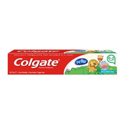 My First Colgate Toothpaste Pack of 12 x 45g Tubes