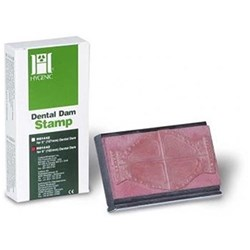 HYGENIC Dental Dam Stamp 127 x 127mm