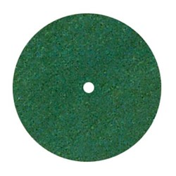 Rubber Wheels Green Coarse 22 x 3.1mm Pack of 100