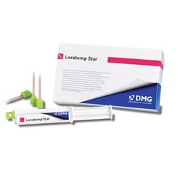 LUXATEMP Star Shade A2 15g Syringe & 10 Smart Mix Tips