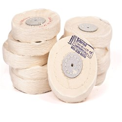 DVA Calico Cloth Wheels 3 inch x50 Ply Pack of 10