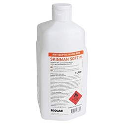 SKINMAN SOFT N Surgical Rub Alcohol Based x 1 Litre