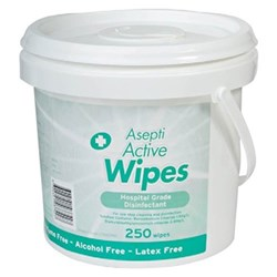 ASEPTI Active Wipes Pail 325 x Wipes