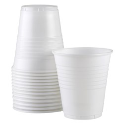 Plastic Cup 185ml 7.3 x 4.3cm Carton of 1000