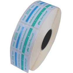 GKE LABEL Green Self Adhesive with Process Indicator x 800