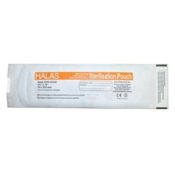 Sterilisation Pouch HALAS 70 x 255mm Box of 200