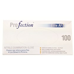 Profection Nitrile Accelerator Free PF size M Box of 100