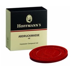 Hoffmans Impression Compound Red 6 Cakes 225g