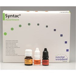 SYNTAC Assorted Kit Primer 3g Adhesive 3g & Heliobond 6g