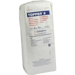 TOPPER Gauze Non Sterile 5 x 5cm Pack of 100