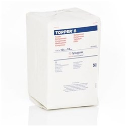 TOPPER Gauze Non Sterile 10 x 10cm Pack of 100