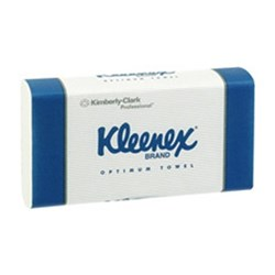 KLEENEX Optimum Towel White 30.5 x 24cm Pk 120 Carton 20