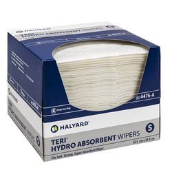 TERI HYDROKNIT Wipers Small 32cm x 32cm Pk of 75 Carton 6