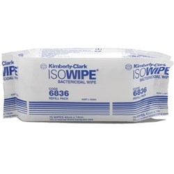 ISOWIPE Refill Pack of 75 42 x 14.3cm