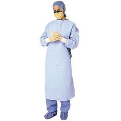 CONTROL Cover Gown Blue Universal Pack of 10