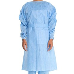 CONTROL Cover Gown Blue Extra Large Pack of 10