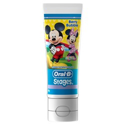ORAL-B Mickey Mouse berry bubble paste 92g Pack of 12