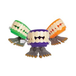 Toy Wind Up Monster Teeth Box of 12