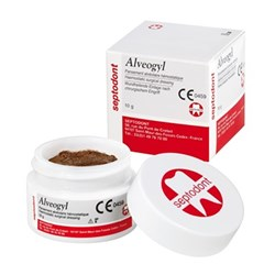 ALVEOGYL Paste 10g Jar Used for Dry Socket Treatment