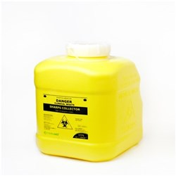 TERUMO Sharps Container 10L Yellow 260x230x300mm