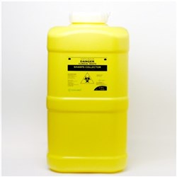 TERUMO Sharps Container 19L Yellow 260x230x480mm