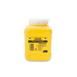 TERUMO Sharps Container 3L Yellow  155x155x245mm