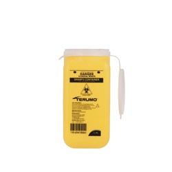 TERUMO Sharps Container 1.4L Yellow Clip Lid