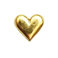 Twinkles Heart Small Gold 22k
