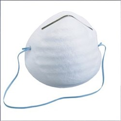 MASK Triple Layer Moulded Regular white strap Box of 50