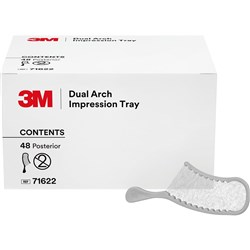 DUAL ARCH IMPRESSION TRAY POSTERIOR REFILL - 48 TRAYS