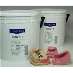 VERTEX Putty 1 to 1 Shore A of 85 2 x 5kg  A plus B