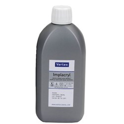 Vertex IMPLACRYL Liquid 500ml Bottle