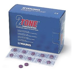 2TONE Disclosing Agent Tablets Pack of 250