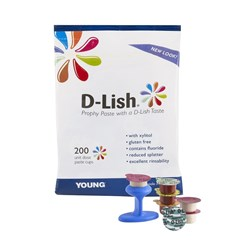 D-Lish Prophy Paste Coarse Assorted Pack of 200