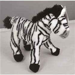 Zooby Stuffed Animal Zebra