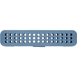 STERI CONTAINER Standard Blue 20.64  x 5.08  x 3.81cm