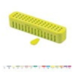 STERI-CONTAINER Standard Neon Yellow 20.64 x 5.08 x3.81cm