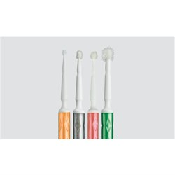 TRU Microbrush Applicator Regular 2mm Green Pack of 80