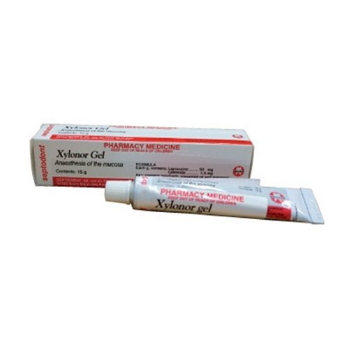 Sp 4062 Xylonor Gel 15g Tube Topical Anaesthetic Henry